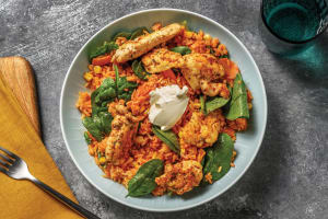 Tex-Mex Chicken & Baked Rice image