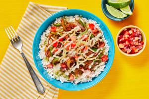Tex-Mex Pork Enchilada Bowls image