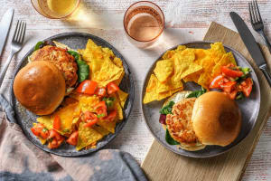 Tex Mex Turkey Burgers image