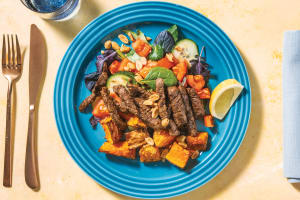 Thai Beef & Pumpkin Salad with Sweet Chilli Dressing image