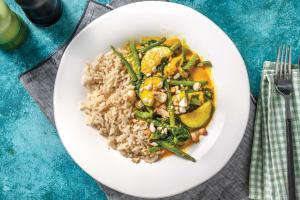 Veggie Thai Yellow Curry & Brown Rice image