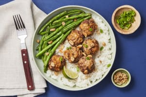 Thai Coconut Pork Meatballs image