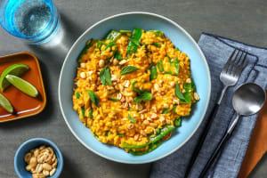 Thai-Curry-Risotto mit Kaiserschoten image