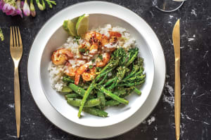 Thai Lime Chilli Prawns & Coconut Sauce image