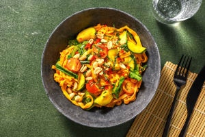 Thai One-pot-Noodles mit Pak Choi & Zucchini image