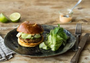 Thai Pork Laarb Burger image