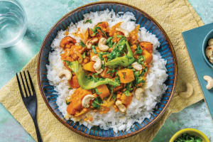 Thai Pumpkin & Lentil Red Curry image