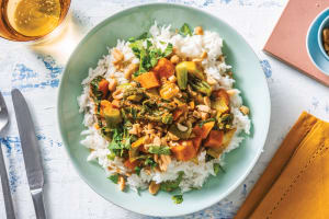Thai Red Pumpkin & Veggie Curry image