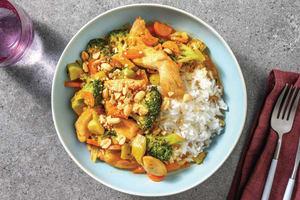 Thai Red Chicken Curry image