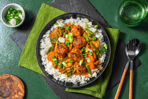 Thai Red Pork Meatball Curry image
