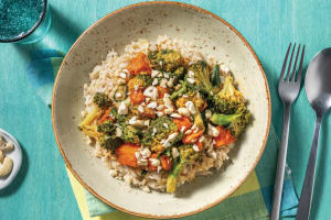Thai Red Pumpkin & Broccoli Curry image