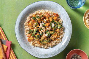 Thai Red Sweet Potato & Eggplant Curry image