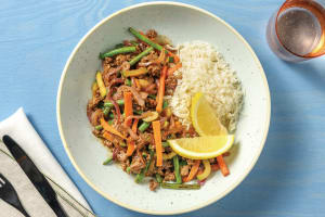 Thai Seven-Spice Beef Bowl image