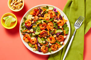 Thai Shrimp with Candied Peanuts image