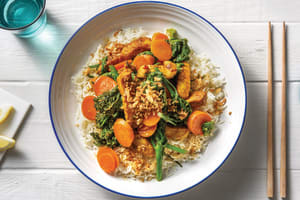 Thai-Spiced Pork & Sweet Chilli Veggies image