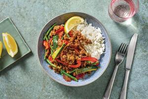 Quick Thai Beef Bowl image
