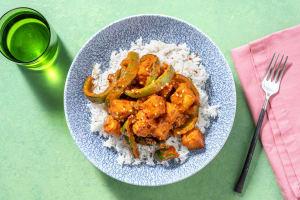 Thai Style Crispy Tofu Red Curry image