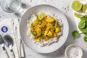 Thai Style Yellow Cod Curry image