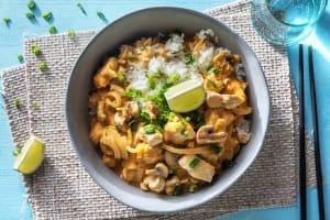 Thailändisches Kokos-Limetten-Curry image