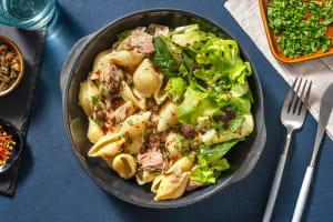 Conchiglie mit Tuna & gebratenem Kapern image