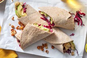 Volkoren tortilla's met pittig gekruide bloemkool image