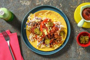 Tortilla's met zwarte bonen en BBQ-saus image