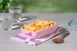 Triple Cheese Penne with Cheddar, Monterey Jack and Red Leicester image