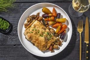 Truffled Chicken, Bacon and Mushroom Pie image