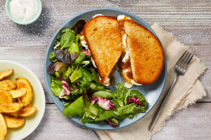 Truffled Onion Grilled Cheeses image