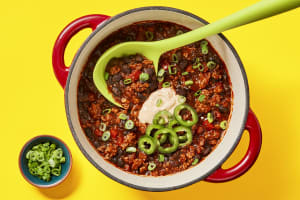 Longhorn Turkey & Black Bean Chili image