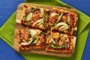 Turkey Meatball, Pepper & Onion Flatbreads image
