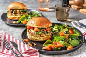Turkey Pesto Cheeseburger image