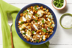 Turkish Chickpea & Cauliflower Bowls image