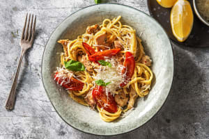 Tuscan Chicken Linguine image