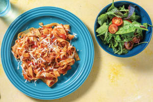Tuscan Pork & Fresh Fettuccine with Chargrilled Capsicum image