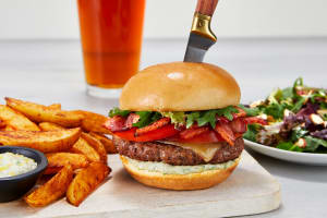 Ultimate BLT Burgers with Herby Aioli image