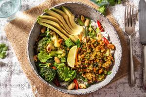 Vegane Bowl nach Thai Art image