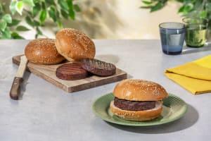 Vegane Burger Basics mit Patties & Sesambuns image