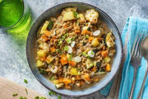 Veganes buntes Massaman-Curry image