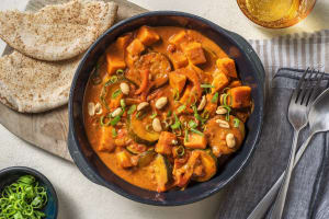 Veganes indisches Süßkartoffelcurry image