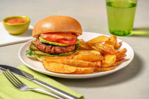 Loaded Meatless Burger image