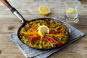 Vegetarian Paella image