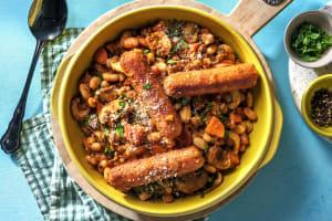 Vegetarian Sausage Cassoulet image