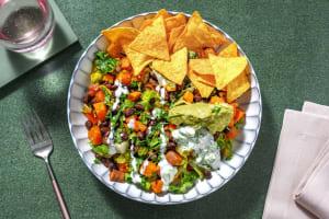 Vegetarische Nacho-Bowl mit Guacamole image