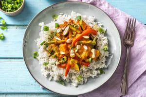 Vegetarisches Gemüse-Kokos-Curry image