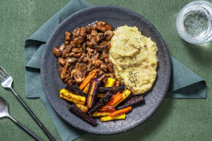 Vegetarisches Maronen-Pilz-Ragout image