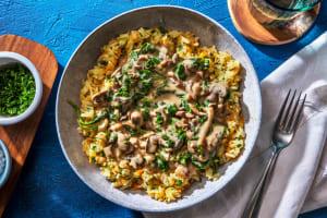 Vegetarisches Stroganoff mit Austernpilzen image