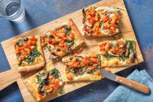 Vegetarisk pizza image