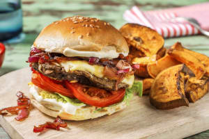 Veggie-Burger mit Pilz-Patty image