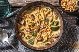 Veggie Laksa Soup image